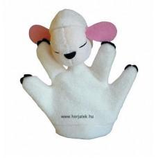 Bárány kesztyűbáb gyermek kézre