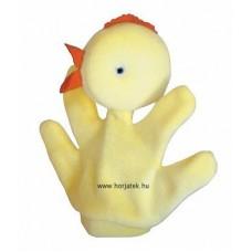 Csibe kesztyűbáb gyermek kézre
