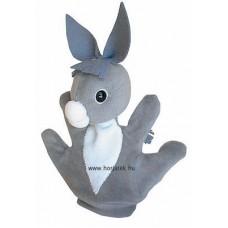 Csacsi kesztyűbáb gyermek kézre