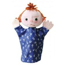 Érzelmek baba, dühös-kesztyűbáb felnőtt kézre