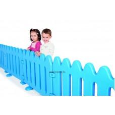 Elkerítőrács - játszókerítés kék