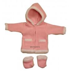 Babaruha - Szőrmés kabát csizmával (lányos)