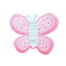 Pihe-puha Ülőpárna - rózsaszín pillangó