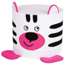 Zebra puff