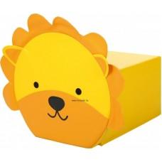 Állatos ülőpárna és puff - oroszlán