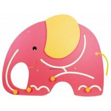 Fali golyóvezető - Elefánt