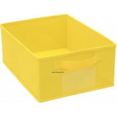 Színes tárolódoboz - sárga