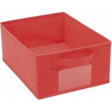 Színes tárolódoboz - piros