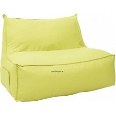 Babzsák kanapé zöld színben