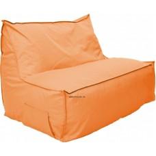 Babzsák kanapé narancs színben