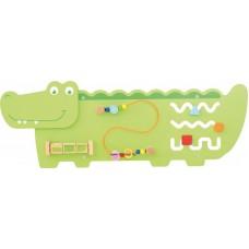 Krokodil a falon - logikai játék
