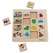 Évszakok - Szortírozó Puzzle