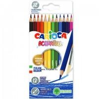 Rajzolj és fess! Festhető színes ceruza készlet,12db-os