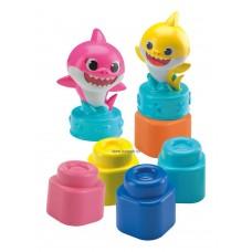Clemmy - Baby Shark játékszett karakterekkel, táskában