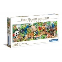 1000 db-os High Quality Collection Panoráma puzzle - Vadállatok