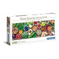 1000 db-os High Quality Collection Panoráma puzzle - Színes élelmiszerek