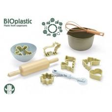 Dantoy BIOműanyag cukrász készlet- cukornádból