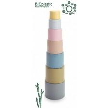 Dantoy BIOműanyag Toronyépítő- cukornádból