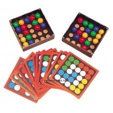 Trükkös ujjak - feladatkártyákkal - finommotorika fejlesztő játék