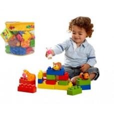 Rugalmas építőkocka - mini állatok