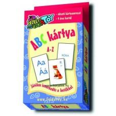 Kártya,ABC,  A-Z, 56 db