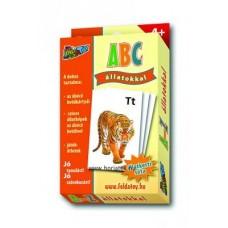 Kártya, ABC Állatokkal,A-Z-ig