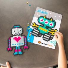 Jixelz – a kreatív kirakó,700 db, Robotok