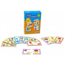 Játék a színekkel - párosító játék