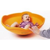 Mini Forgó - Egyensúlyozó tölcsér narancs színű - Gonge