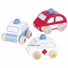 Mini autók-S.O.S autó 3 darabos