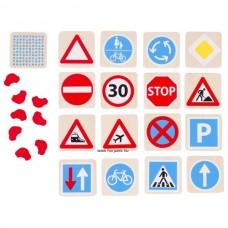 Memória, közlekedési táblák