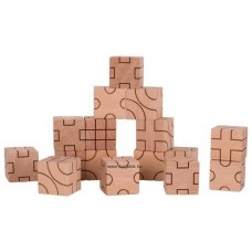 Geometriai Kocka Építő