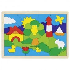 Világítótorony, puzzle