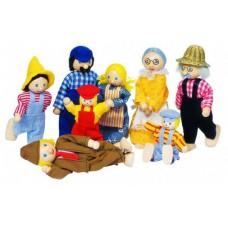 Vidéki család