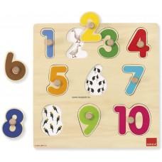 Számok puzzle