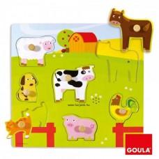 Hangot adó állatok - Puzzle - GOULA