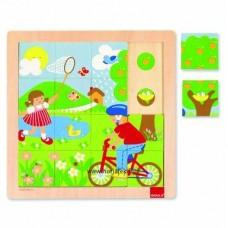 Tavasz - Részletfigyelő puzzle