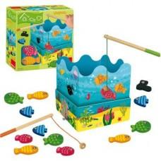 Horgászverseny -  mágneses játék