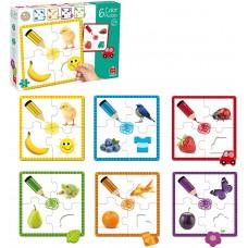Ismerkedem a színekkel - GOULA puzzle