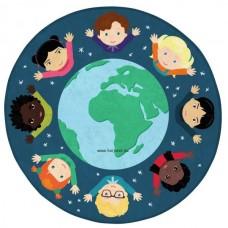 Körszőnyeg, gyerekek a világból,1 m