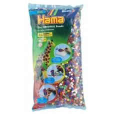 Hama vasalható gyöngy - 6000 db-os vegyes színű Midi