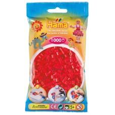 Hama vasalható gyöngy - 1000 db-os piros Midi