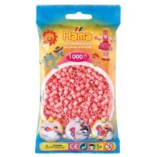 Hama vasalható gyöngy - 1000 darabos rózsaszín midi