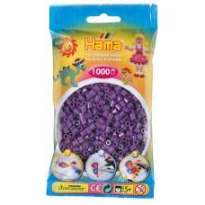 Hama vasalható gyöngy - 1000 db-os lila színű Midi