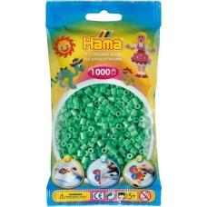 Hama vasalható gyöngy - 1000 db-os világoszöld - Midi