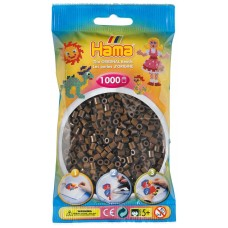 Hama vasalható gyöngy - 1000 db-os barna színű Midi