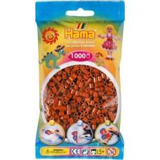 Hama vasalható gyöngy - 1000 db-os vörösesbarna - Midi