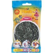 Hama vasalható gyöngy - 1000 db-os sötétzöld - Midi