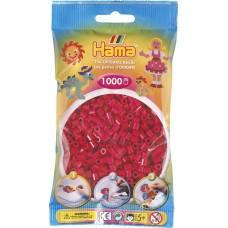 Hama vasalható gyöngy - 1000 db-os bordó színű - Midi