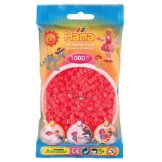 Hama vasalható gyöngy - 1000 db-os neon piros Midi